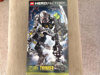 Hero factory set -all complete with instructions