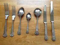Viners 6 place setting cutlery set