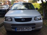 Suzuki alto 2005 mot expired very low mileage