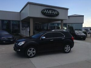 2013 Chevrolet Equinox LTZ / AWD / LEATHER /  NO PAYMENTS FOR 6