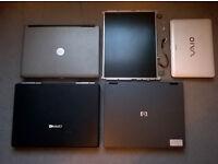 Joblot - 3xLaptops and components - £30