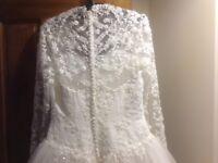 Wedding dress size 12 - bought new in March 2018 - worn once