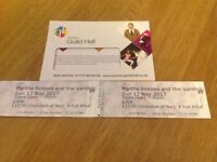 2 tickets for Martha Reeves and the Vandellas SUNDAY 12th NOVEMBER