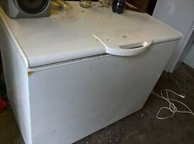 White big chest freezer..120cm....Mint free delivery
