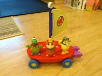 Wonder Pets play set.