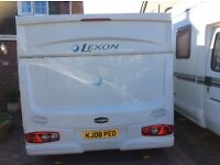 Lunar lexon 4 berth end bedroom fixed bed