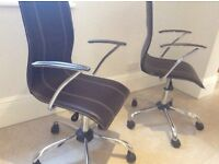 Two office chairs for quick sale
