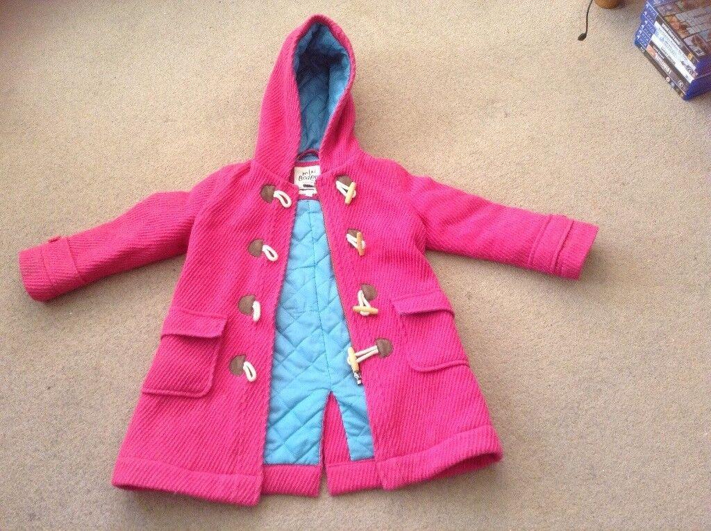 Girls mini boden coat age 3-4