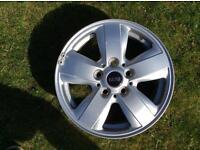 Mini 15 inch alloy wheel 2014 onwards