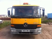 Mercedes Atego Hook Loader
