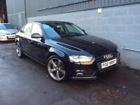 2012 AUDI A4 2.0TDI SE BLACK EDITION STYLING FSH £49 per week FINANCE only £8650