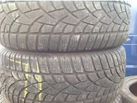 Part worn tyres 225/45/17-225/50/17-225/55/17 - £140 x 4 tyres- sets & pairs/ open on Sunday's