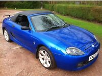 2004 MG TF 1.6 CONVERTIBLE WITH HARDTOP **MOT MARCH 2018**