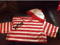 Where's Wally fancy dress outfit