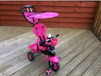 Girls Smart Trike (pink)