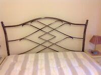Metal Headboard (fits King Sized / 5' bed)