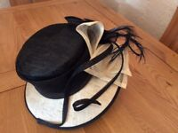 Wedding hats excellent condition