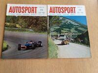 Two Vintage Autosport Magazines Jan 1967