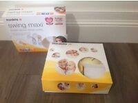 Medela Swing Maxi Double Electric Breast Pump Used Once RRP £240
