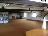 Over 2000 sq/ft office space - includes meeting rooms, kitchen, toilets and communal garden