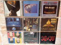 """LARGE 160+ CD COLLECTION / ROCK, POP, BLUES, REGGAE, ETC, ETC"""