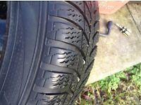 195/55/15 winter tyres