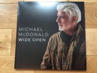 MICHAEL McDONALD. WIDE OPEN.