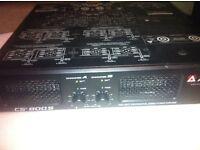 peavey stereo power amp cs 8000 s