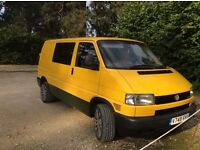 VW T4 TRANSPORTER EX AA (ENGINE MILES ONLY 103090) DAYVAN CAMPER 2000 2.4 TDI WITH AA EXTRAS