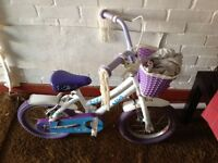 Child's bicycle, probably suitable for 4/5 year old