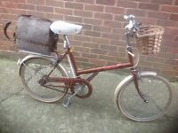 Vintage Raleigh Shopper with Basket