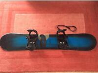 Air walk Snowboard 149cm with bindings