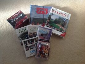 Clubs, Dvd's, books, , ideal for the beginner.