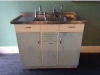 Vintage 1950s Sink Unit