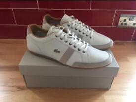 Lacoste Alisos mens size 12 Trainers. Brand New.