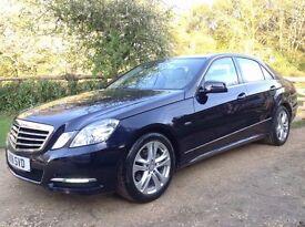 2011 Mercedes E200 CDi Avantgarde Full Mercedes History Heated Leather Sat Nav New MOT Tyres Brakes