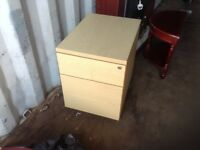 Small two drawer office cabinet,£30.00