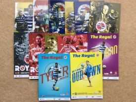 READING FOOTBALL PROGRAMME COLLECTION