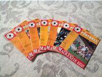 Around Football magazines. (7 off)