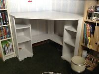 IKEA corner desk and chair. Good condition. Available for collection only £20.00 for both