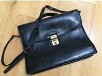 Genuine Texier Leather Briefcase