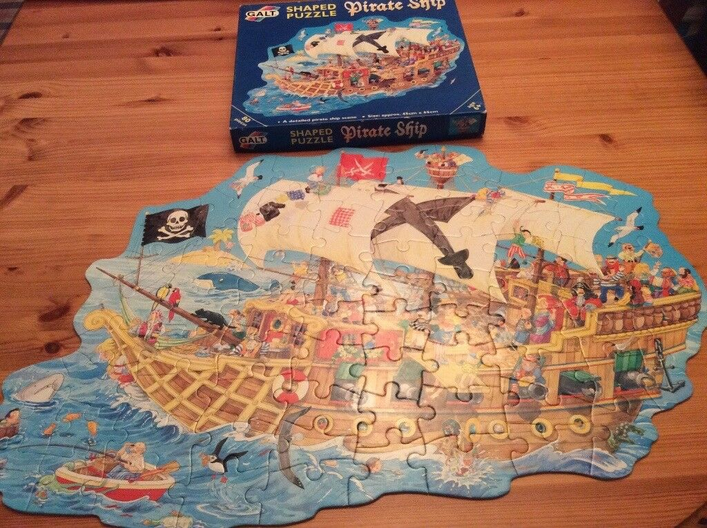 Pirate Ship Jigsaw