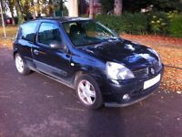 RENAULT CLIO CAMPUS SPORT 1.1L EDITION, 5 SPEED MANUAL, SHORT MOT, SPARES OR REPAIR, BARGAIN