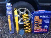 Land Rover lift kit