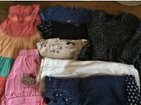 Bundle Of Baby Girl Clothes Size 2-3 Years