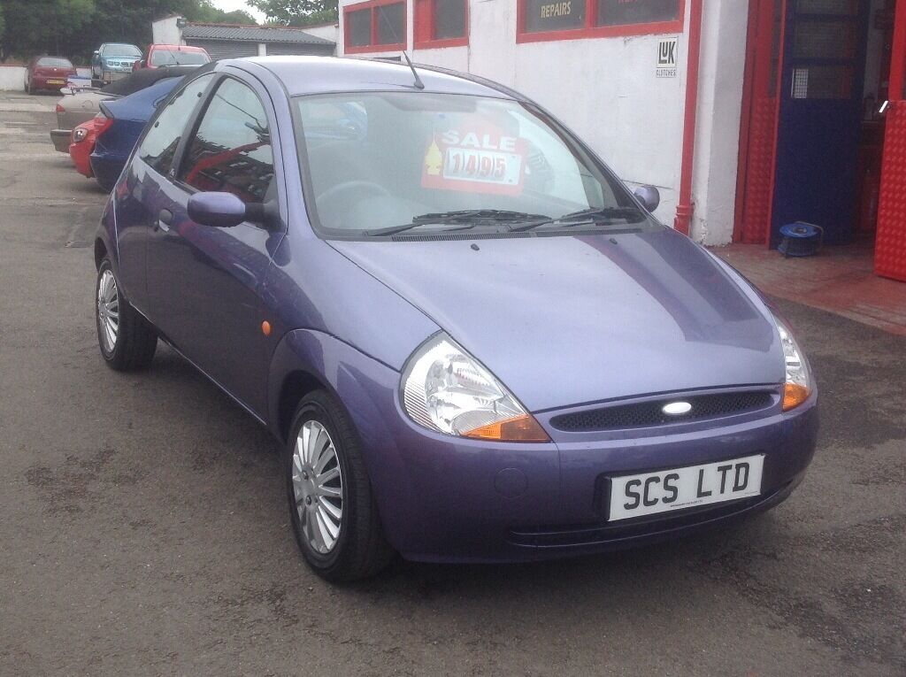 Ford Ka Style  Plate Only  Miles Purple Fsh Stamps Mot One