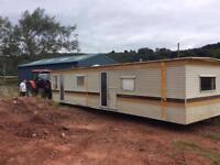 Free static caravan