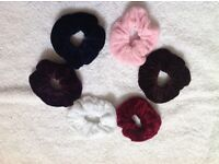 Small hair scrunchies 6 for £2.00