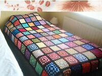 Crochet blanket new handmade