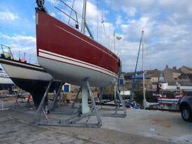 Galvanised Yacht cradle